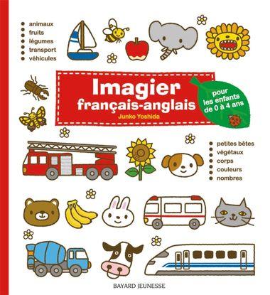 Couverture de «Imagier français-anglais (rouge)»