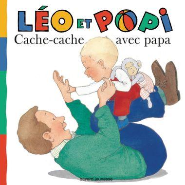Couverture de «Léo et Popi – Cache-cache avec Papa»