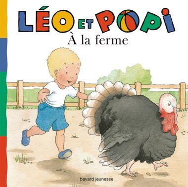 Couverture de «Léo et Popi – À la ferme»