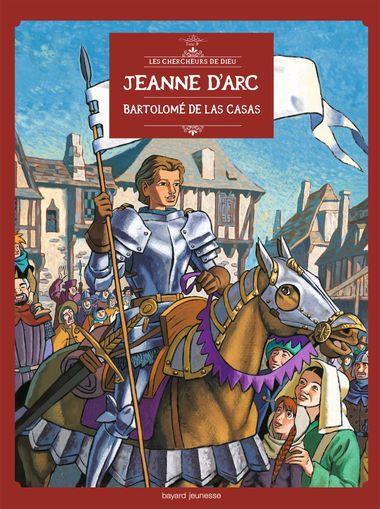 Couverture de «Jeanne d'Arc en BD»