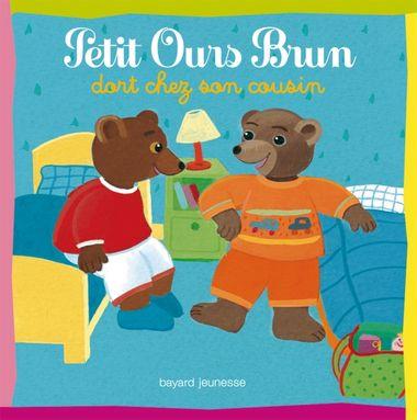 Couverture de «Petit Ours Brun dort chez son cousin»