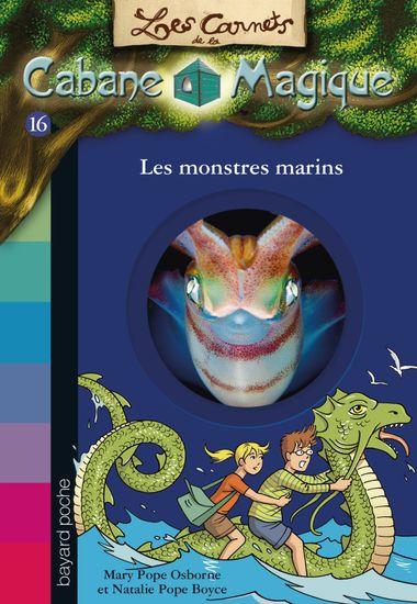 Couverture de «Les monstres marins»