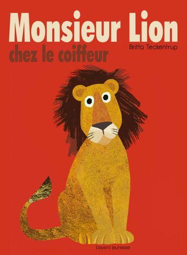 Couverture de «Monsieur Lion chez le coiffeur»