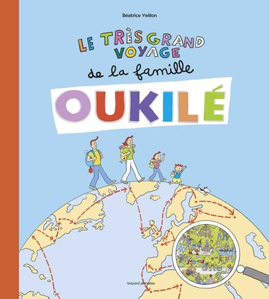 Couverture de «Le très grand voyage de la famille Oukilé»