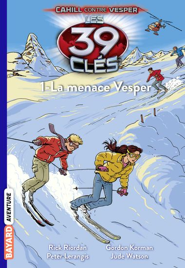 Couverture de « La menace Vesper »