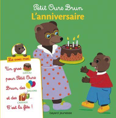 Couverture de «Petit Ours Brun, Lis avec moi – L'anniversaire»
