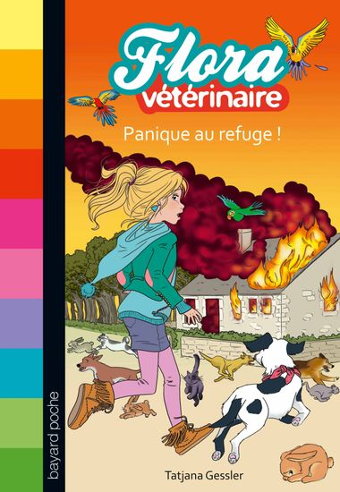 Couverture de « Panique au refuge ! »