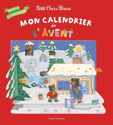Couverture de «Mon calendrier de l'Avent Petit Ours Brun»