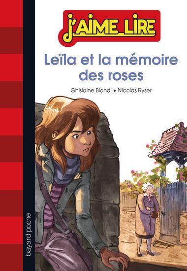 Couverture de «Leila et la mémoire des roses»