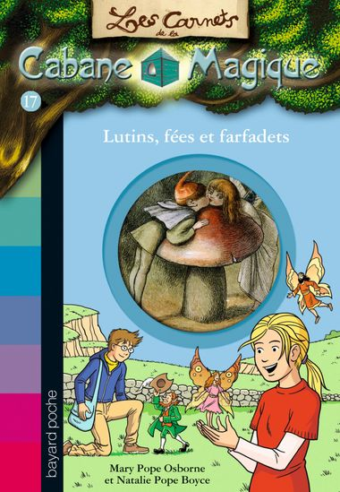 Couverture de «Lutins, fées et farfadets»