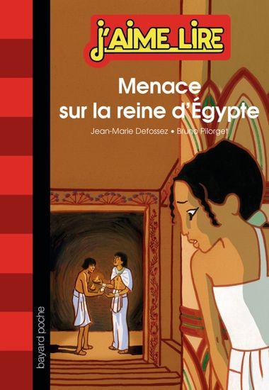 Couverture de «Menace sur la reine d'Égypte»