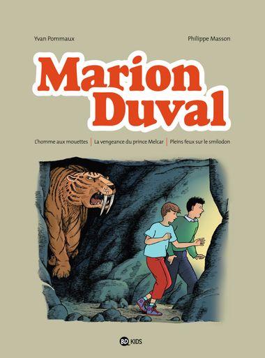 Couverture de «L'homme aux mouettes – La vengeance du prince Melcar – Pleins feux sur le smilodon»