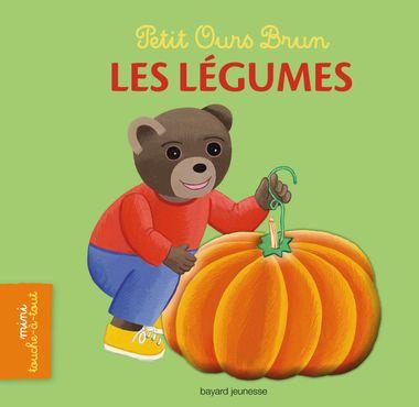Couverture de «Petit Ours Brun mini touche-à-tout – Les légumes»