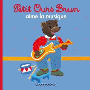 Couverture de «Petit Ours Brun aime la musique»