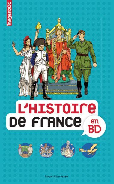 Couverture de «L'histoire de France en BD»