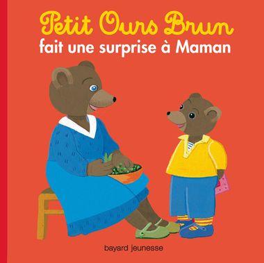 Couverture de «Petit Ours Brun fait une surprise à maman»