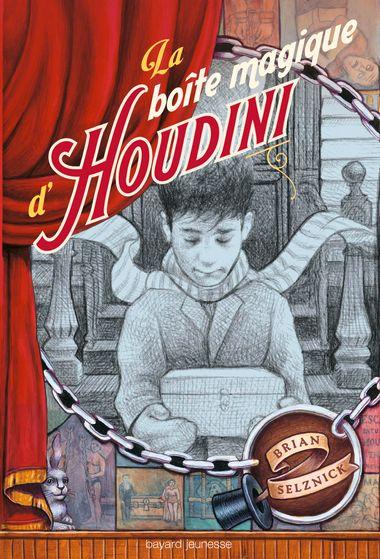 Couverture de «La boîte magique d'Houdini»
