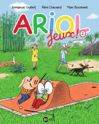 Couverture de «Ariol –  Cahier de jeux 2»