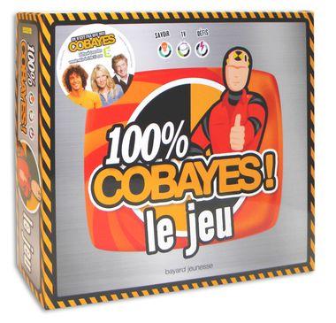 Couverture de «100 % Cobayes : le jeu»