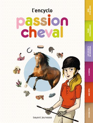 Couverture de « Passion cheval – L'encyclo »