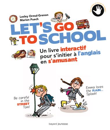 Couverture de « Let's go to school »