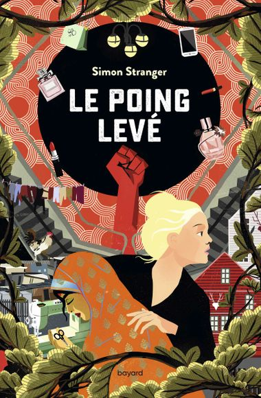 Couverture de « Le poing levé »