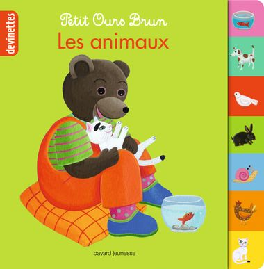 Couverture de «Petit Ours Brun devinettes – Les animaux»