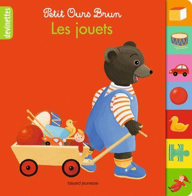 Couverture de «Petit Ours Brun devinettes – Les jouets»
