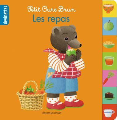 Couverture de «Petit Ours Brun devinettes – Les repas»