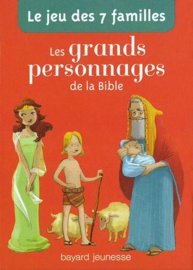 Couverture de «Le jeu de 7 familles des grands personnages de la Bible»