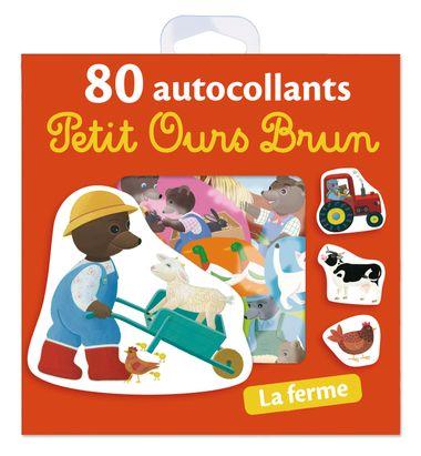 Couverture de «La ferme – 80 autocollants Petit Ours Brun»