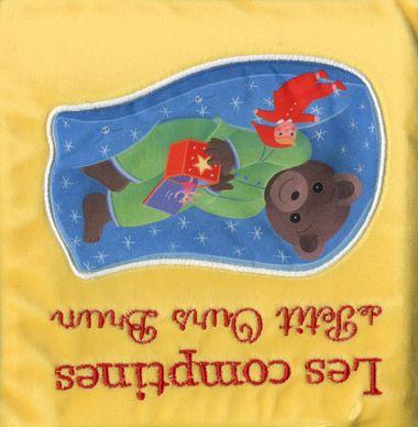 Couverture de «Les comptines toutes douces de Petit Ours Brun»