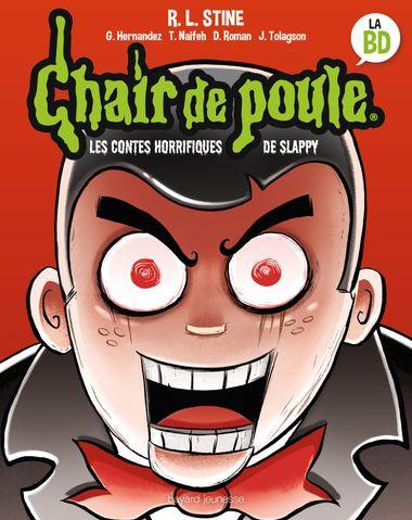 Couverture de «Les contes horrifiques de Slappy»