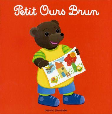 Couverture de «Ma boîte de stickers de Petit Ours Brun»