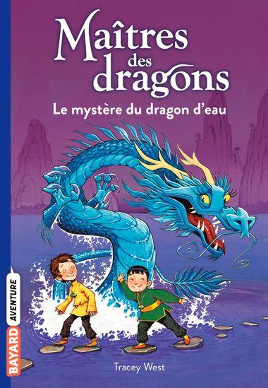 Couverture de «Le mystère du dragon d'eau»