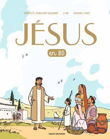Couverture de «Jésus en BD, le récit d'une bonne nouvelle»