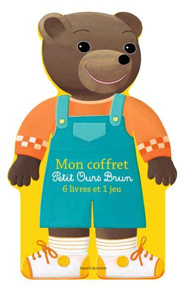 Couverture de «Mon coffret Petit Ours Brun – 6 livres et 1 jeu»