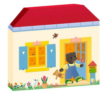 Couverture de «Ma maison à histoires Petit Ours Brun – 5 mini-livres»