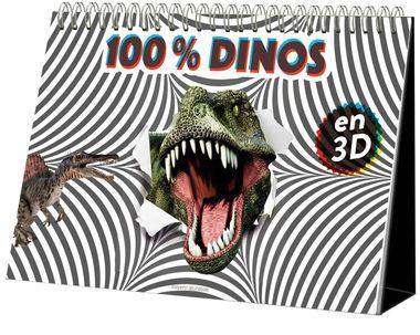 Couverture de «100% Dinos 3D»