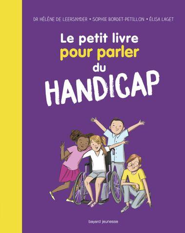 Couverture de «Le petit livre pour parler du handicap»