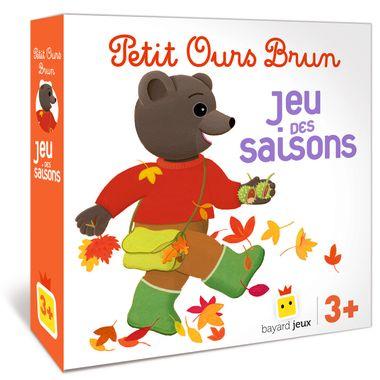 Couverture de «Petit Ours Brun – Le jeu des saisons»