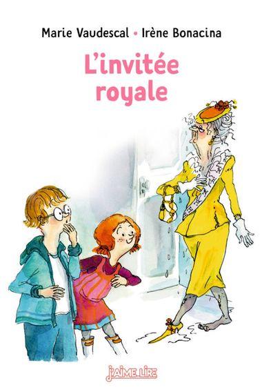 Couverture de «L'invitée royale»