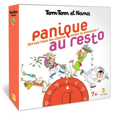 Couverture de «Jeu Tom-Tom et Nana – Panique au resto»