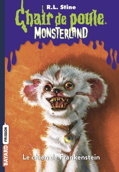 Couverture de «Le chien de Frankenstein»