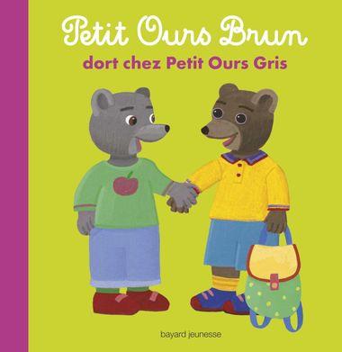 Couverture de «Petit Ours Brun dort chez Petit Ours Gris»