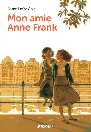 Couverture de «Mon amie Anne Frank»