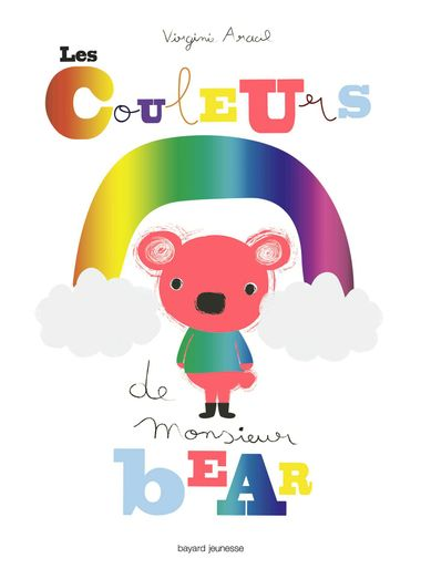 Couverture de «Les couleurs de monsieur Bear»