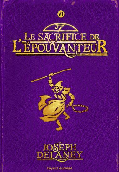 Couverture de «Le sacrifice de l'épouvanteur»