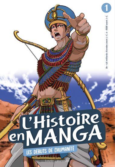 Couverture de «L'histoire en manga 1 – Les débuts de l'humanité»