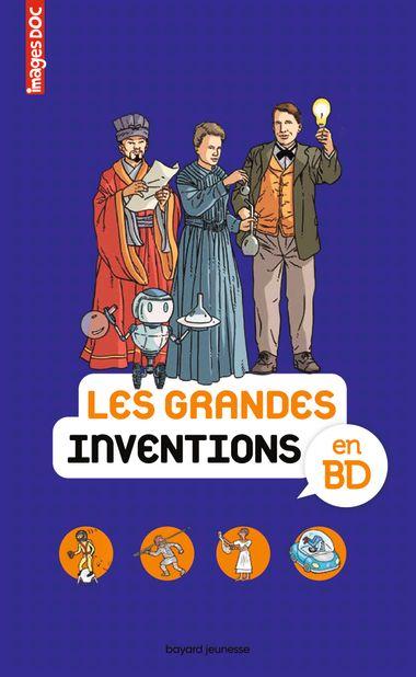 Couverture de «Les grandes inventions en BD»